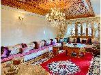 Beautiful house for sale. Total area 127 m². Furnished Moroccan living room, Enclosed residence.