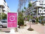 Bel appartement en location à Rabat. Surface totale 157.0 m². Places de stationnement et terrasse