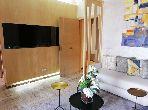 بيع شقة ببوسكورة. المساحة الإجمالية 64.0 م². مكيف للهواء وحوض للسباحة.