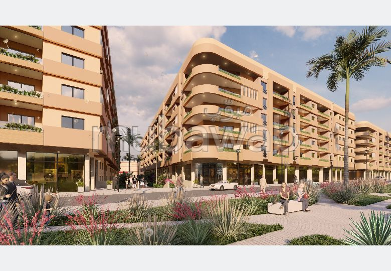 شقة رائعة للبيع بمراكش. المساحة الكلية 101.0 م².