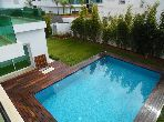 Location d'une villa avec piscine situé à Souissi