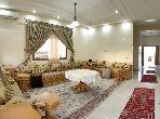 Location villa de luxe à Marrakech. Surface totale 650 m². Meublée