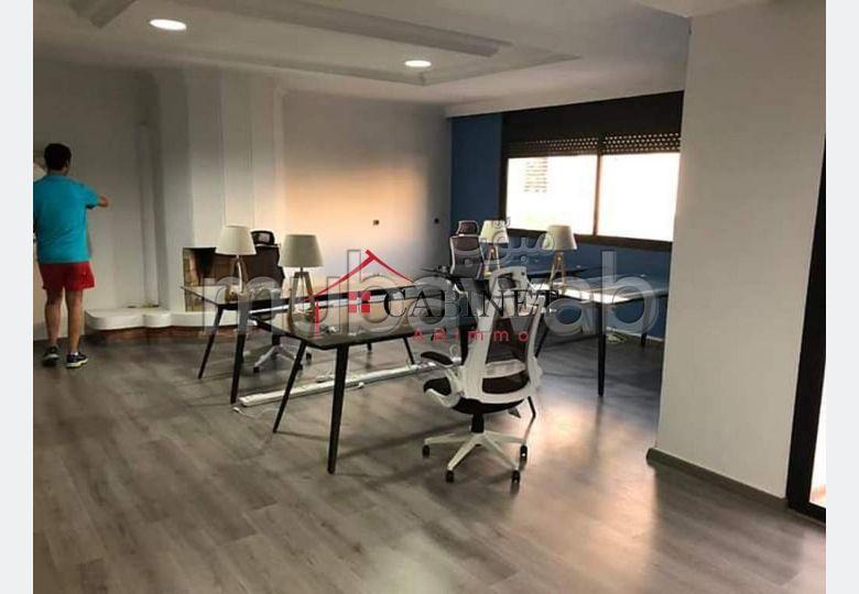 Plateau bureau en Location à Hay Riad