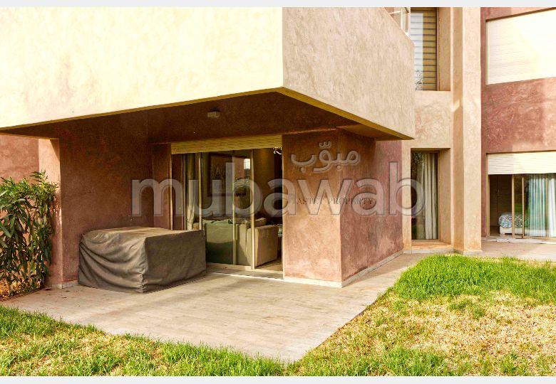 استئجار شقة بمراكش. المساحة الإجمالية 110 م². مفروشة.