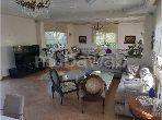 Villa de luxe à vendre à Casablanca. Surface totale 550 m². Prestation de conciergerie, air conditionné
