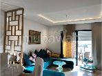 Bel appartement en location à Rabat. Superficie 110.0 m². Bien meublé
