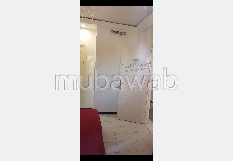 Appartement à louer à Marrakech. 4 pièces confortables. Bien meublé.