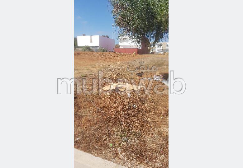 Terrain en vente à Rabat. Superficie 528 m²