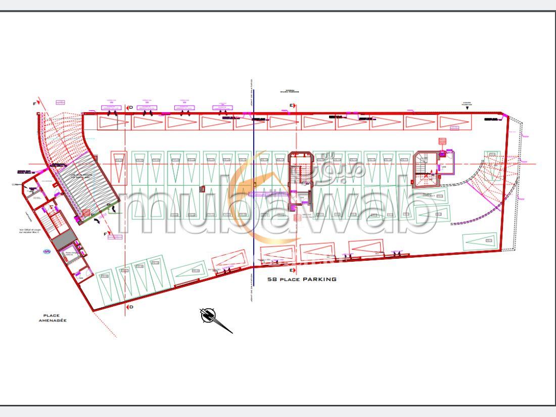 Réf 7076: Pour les investisseurs, parking au centre ville, Bizerte