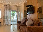 شقة رائعة للبيع بأصيلا. 2 غرف ممتازة. صالة تقليدية ونظام طبق الأقمار الصناعية.