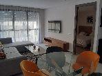 Appartement en location à Casablanca. Surface de 51.0 m². Meublé