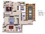 Appartement de 134m² en vente Ali Building