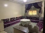Location saisonnière à Tanger. 1 chambre. Bien meublé