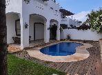 Location magnifique villa vide 5 chambres avec Piscine et jardin à Dar Bouazza