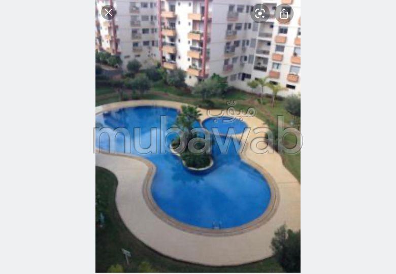 Appartement à louer à Mohammedia. Surface totale 159.0 m². Meublé