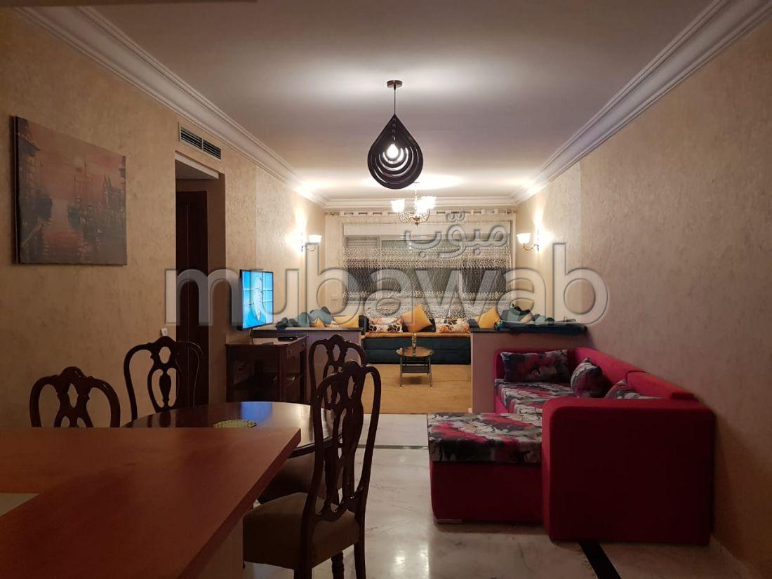 Appartements meublé à louer au centre ville