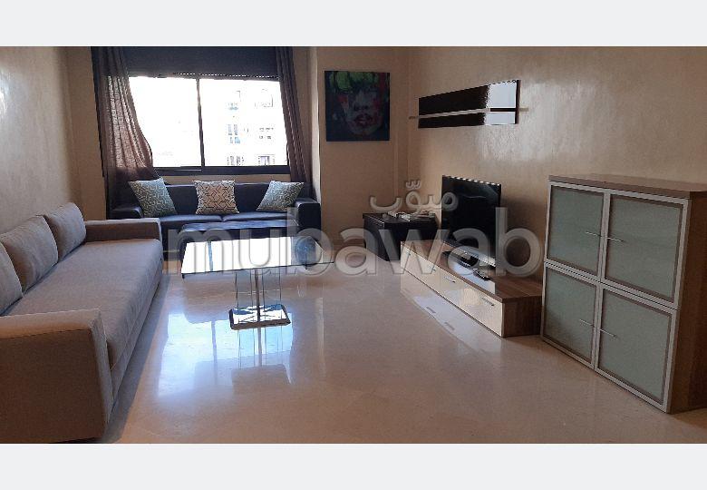 Superbe appartement à louer à Casablanca. 3 pièces confortables. Meublé