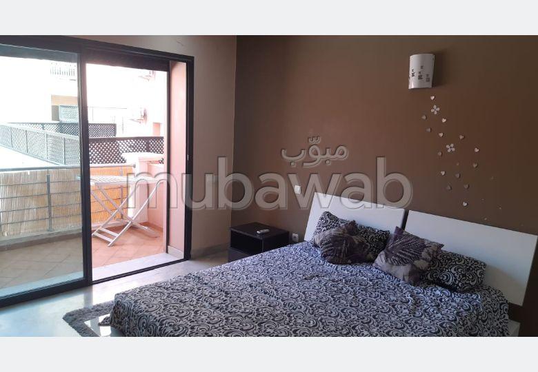 Superbe appartement à louer à Marrakech. Superficie 72.0 m². Bien meublé