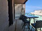 Bel appartement avec terrasse vue sur mer