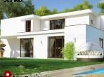 Luxury Villa for sale. Dimension 300.0 m². Green areas, Parking spaces for cars.