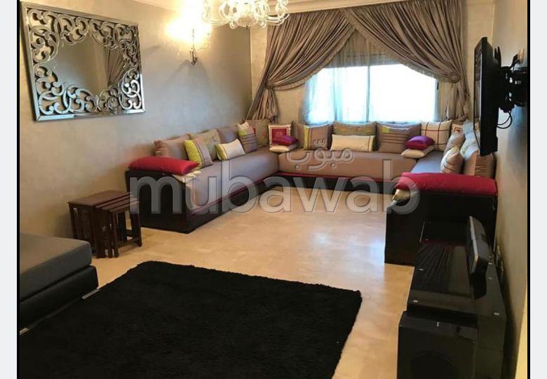 شقة رائعة للبيع بالدارالبيضاء. المساحة الكلية 118.0 م². زجاج مزدوج وباب قوي.
