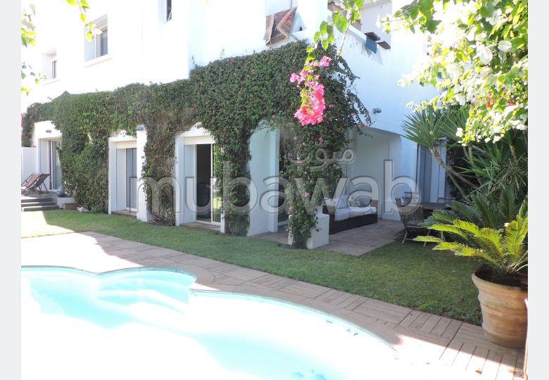 Av magnifique villa Résidence ain diab casablanca