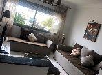 شقة جميلة للكراء بطنجة. المساحة الإجمالية 100.0 م². مفروشة.