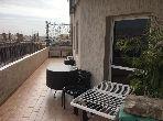 شقة للشراء بأكادير. المساحة 120.0 م². شرفة رائعة.