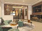 شقة جميلة للبيع بالدارالبيضاء. 3 غرف رائعة. موقف سيارات ومصعد.