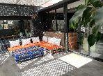 Appartement à louer meublé avec terrasse à Gauthier 100m2