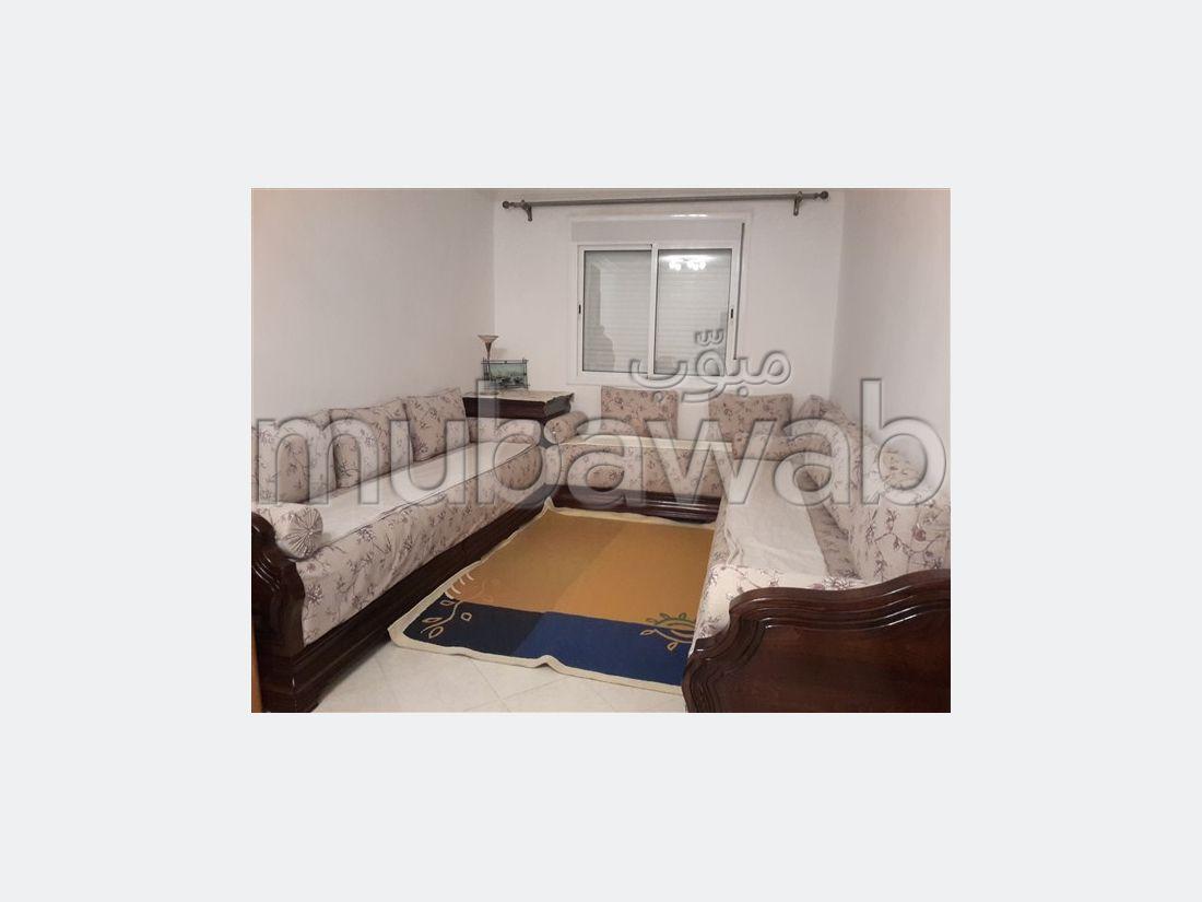 شقة للكراء بطنجة. 2 غرف جميلة. مفروشة.