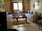 Appartement à louer à Tanger. 2 chambres. Bien meublé.