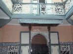 Vente riad à rénover de 200m² habi avec 7 chambres à kaât bennahid marrakech medina