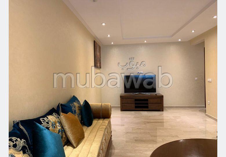 Location appartement meublé au vide 03 chs à mohammedia