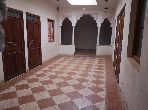 House for sale. 4 lovely rooms. Furnished Moroccan living room.