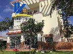 Luxury villa for sale. Dimension 640.0 m². Beautiful terrace and garden.