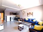 شقة رائعة للإيجار بمراكش. المساحة الكلية 65.0 م². مفروشة.