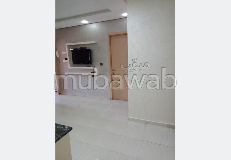 شقة رائعة للإيجار بمراكش. المساحة الكلية 79 م². شرفة مشرقة.