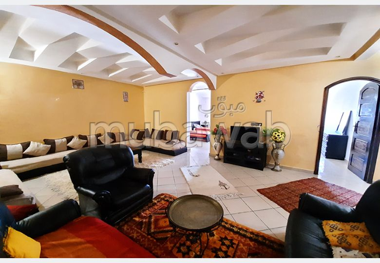 Apartment for sale. 2 Small bedroom. Large terrace.