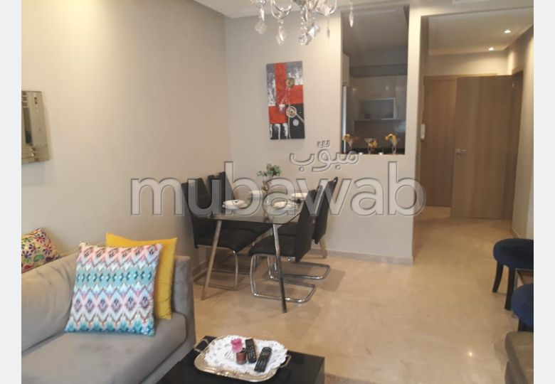 LOCATION APPARTEMENT MEUBLE A BOURGOGNE 7500 DHS
