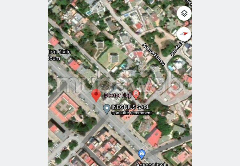 Vente terrain à takadoum Rabat. Superficie 550.0 m²