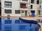 Louez cet appartement à Agadir. 6 pièces confortables. Service de concierge et climatisation