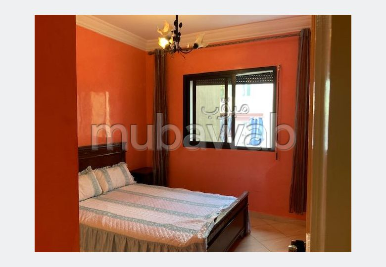 Appartement meublé ou vide à wafa vue dégagée