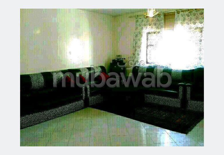 Appartements à louer à Rabat. Surface totale 100.0 m². Bien meublé