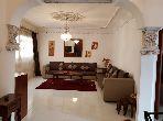 شقة للإيجار بطنجة. المساحة الكلية 80.0 م². مفروشة.