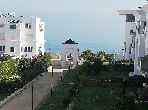 Beau duplex s3 meublé avec vue sur mer Gammarth