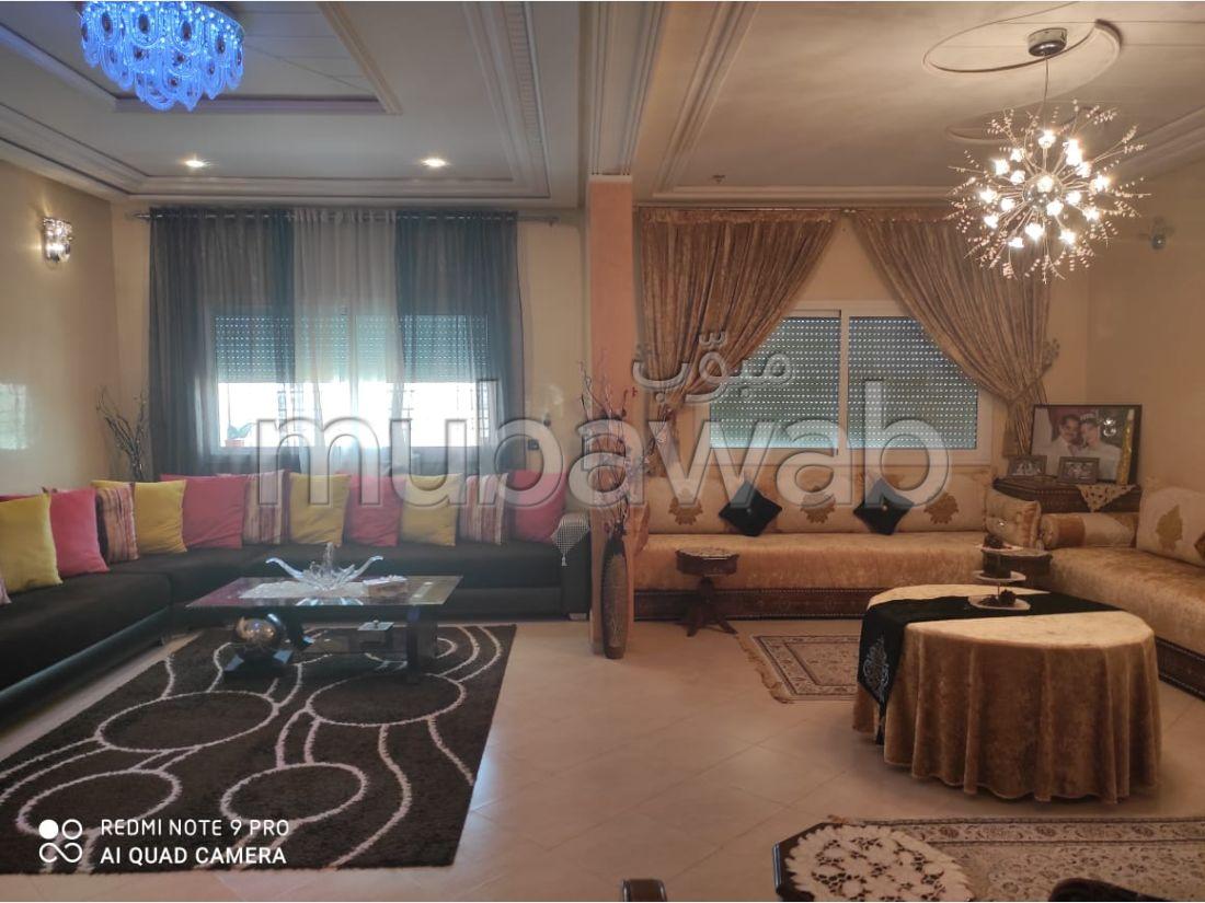 شقة رائعة للبيع بفاس. المساحة 140 م². باب متين ، صالون مغربي.