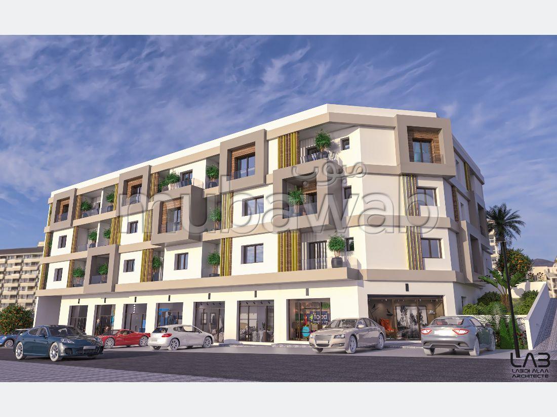 Vend appartement. 2 belles chambres. Places de parking et beau jardin.