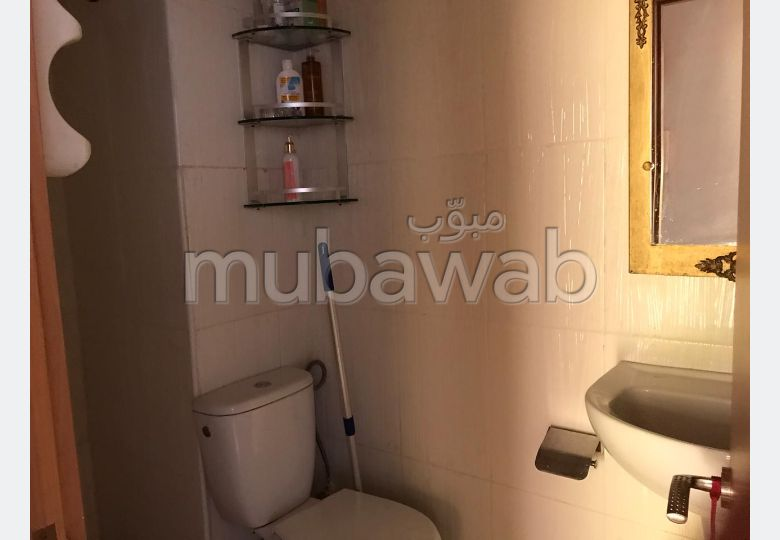 Vend appartement à Tanger. 2 grandes pièces. Système de parabole et résidence sécurisée.