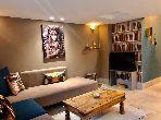 Très bel appartement en location à Casablanca. 1 chambre. Meublé